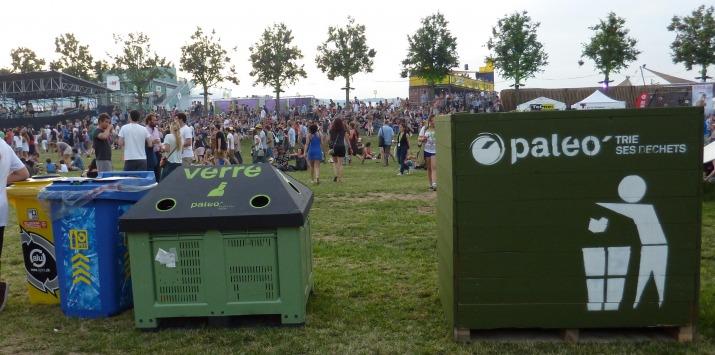 Les festivals, de plus en plus écolo - paleo